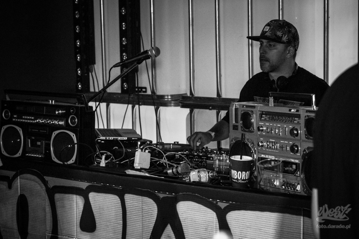 #01 DJ B, 5 Urodziny Rap History Warsaw, 2015