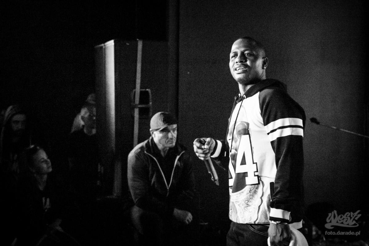 #12 AZ, 5 Urodziny Rap History Warsaw, 2015
