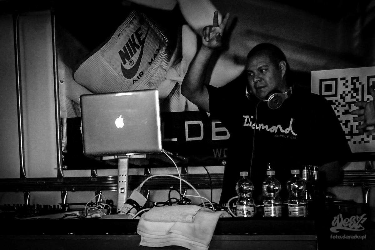 #01 DJ Mishaps, Evidence w Warszawie, 2015