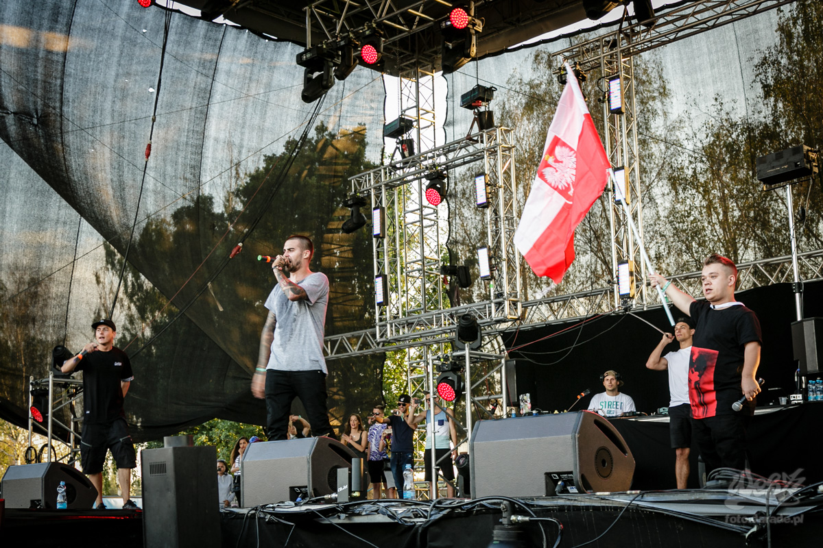 #11 Quebonafide x Krzy Krzysztof x DJ Noriz, Hip Hop Kemp, 2015