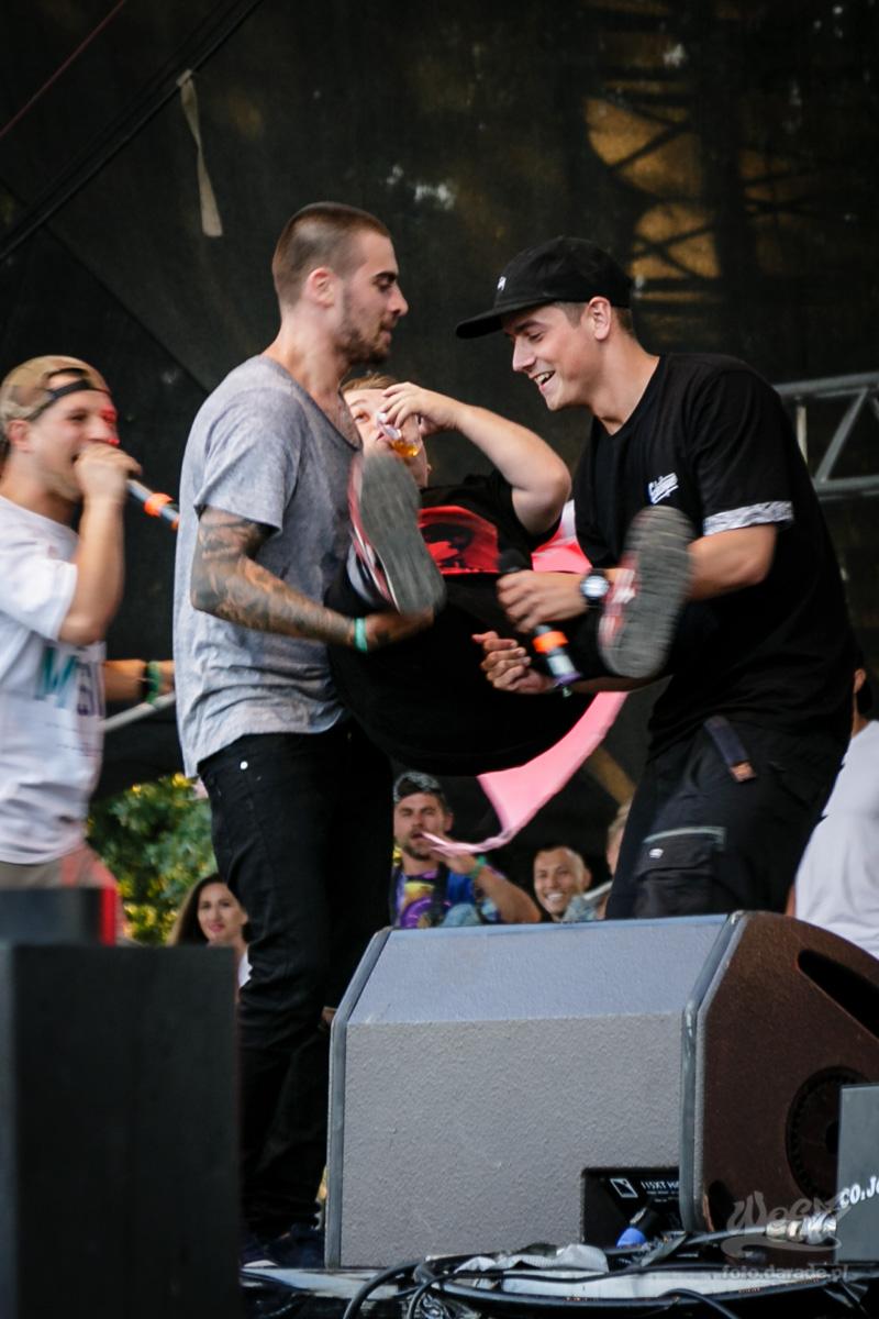 #14 Quebonafide x Krzy Krzysztof x DJ Noriz, Hip Hop Kemp, 2015