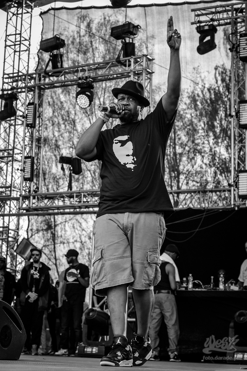 #13 Gang Starr Foundation – Jeru The Damaja, Hip Hop Kemp, 2015