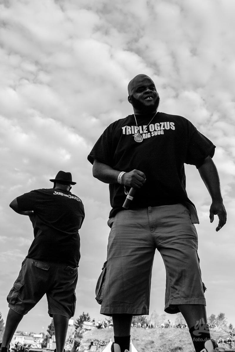 #15 Gang Starr Foundation – Big Shug, Jeru The Damaja, Hip Hop Kemp, 2015