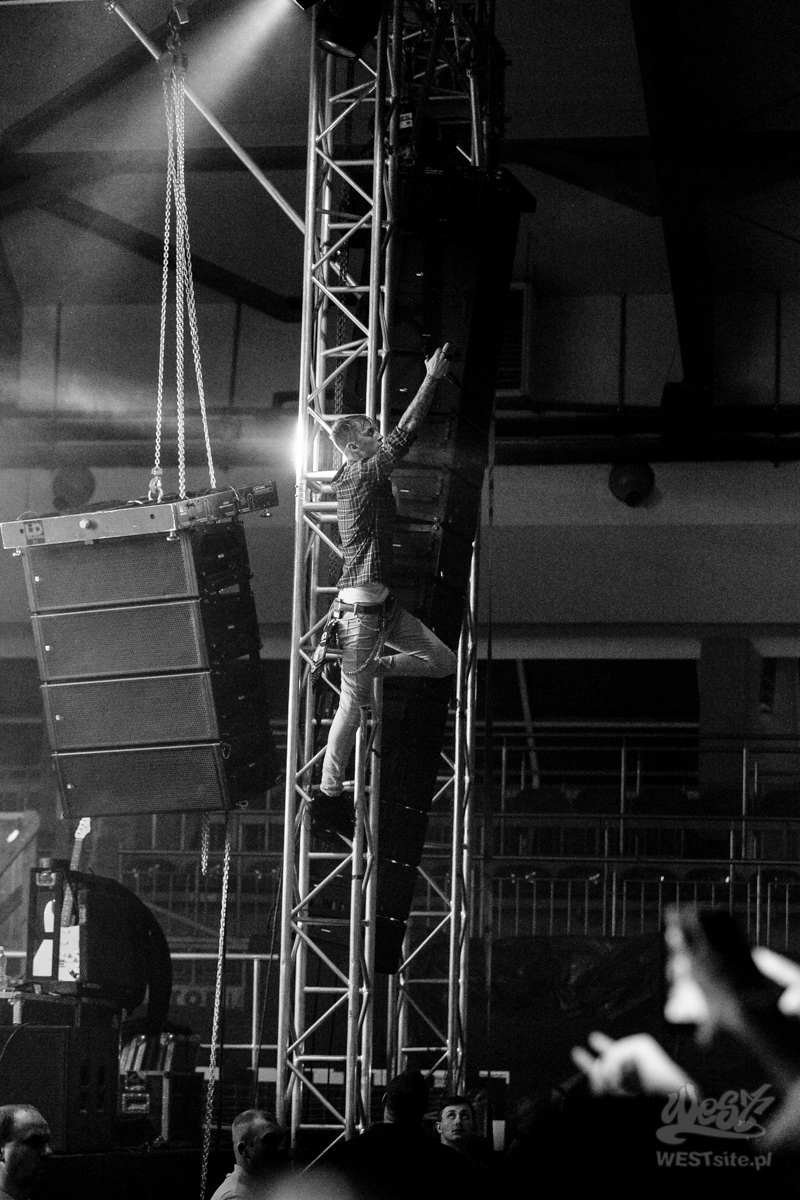 #46 Machine Gun Kelly x Live Band, Machine Gun Kelly ROAD TRIPPIN TOUR @ Warszawa, 2015