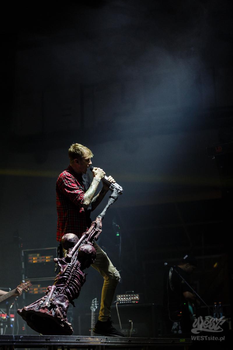 #56 Machine Gun Kelly x Live Band, Machine Gun Kelly ROAD TRIPPIN TOUR @ Warszawa, 2015
