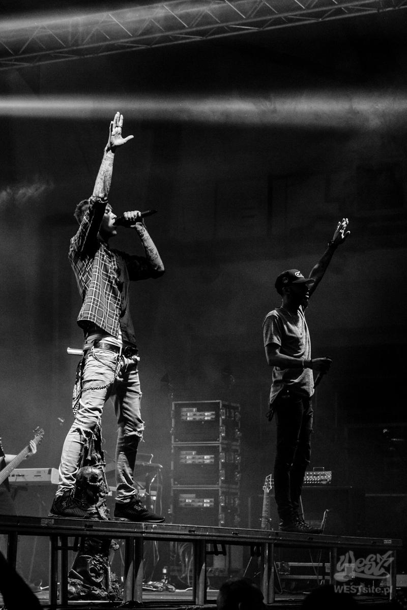 #70 Machine Gun Kelly x Live Band, Machine Gun Kelly ROAD TRIPPIN TOUR @ Warszawa, 2015
