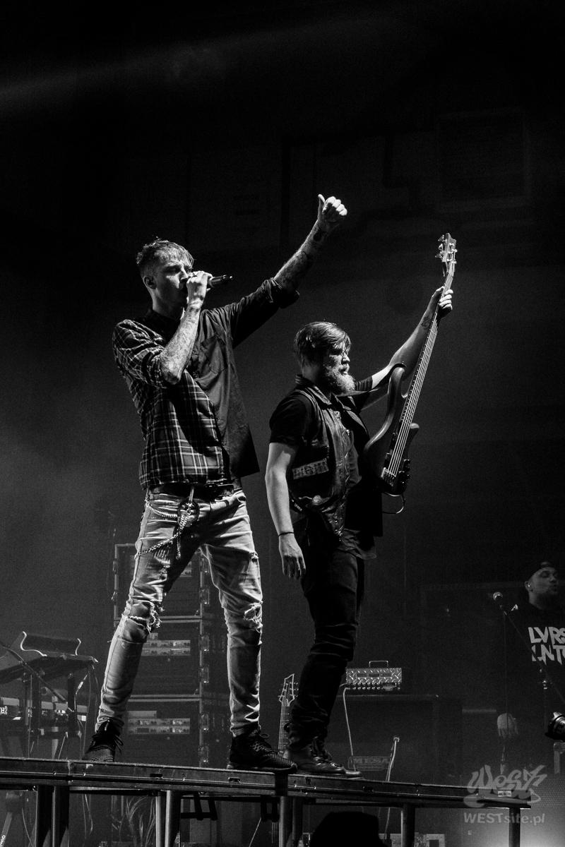 #75 Machine Gun Kelly x Live Band, Machine Gun Kelly ROAD TRIPPIN TOUR @ Warszawa, 2015