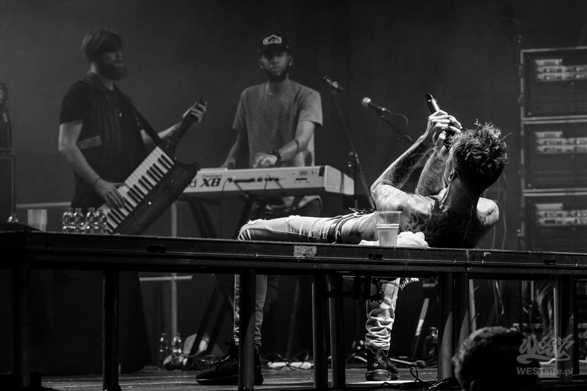 #86 Machine Gun Kelly x Live Band, Machine Gun Kelly ROAD TRIPPIN TOUR @ Warszawa, 2015