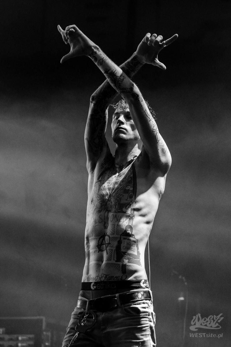 #106 Machine Gun Kelly x Live Band, Machine Gun Kelly ROAD TRIPPIN TOUR @ Warszawa, 2015