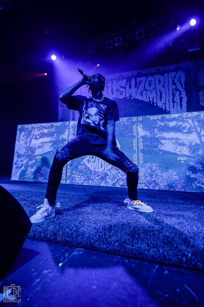 <span class='second-part'>Flatbush Zombies </span> 2018-10-09  Progresja, Warsaw, Poland